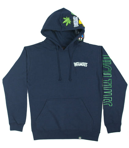 INFAMOUS HIGH TIMES MULTI-PATCH HOODIE