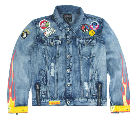 LIGHT IT UP BLUE VINTAGE DENIM