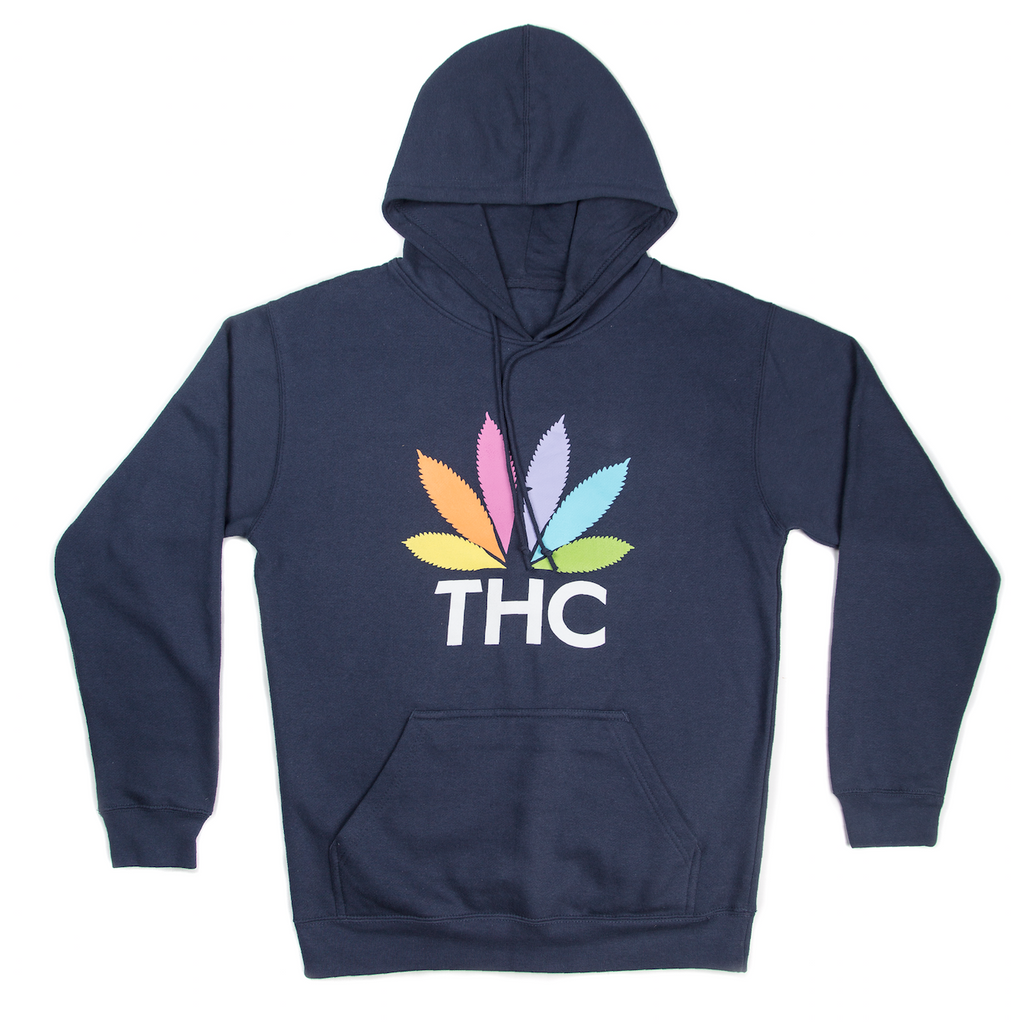 RON ENGLISH THC LOGO NAVY HOODIE