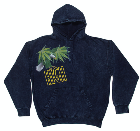 RON ENGLISH HIGH EAGLE HOODIE