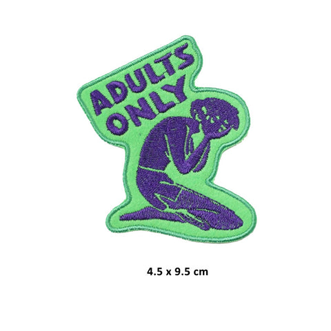 Adults Only Patch - Large