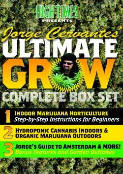 Jorge Cervantes' Ultimate Grow Complete Box Set