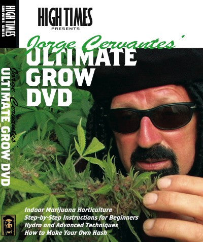 Jorge Cervantes Ultimate Grow DVD