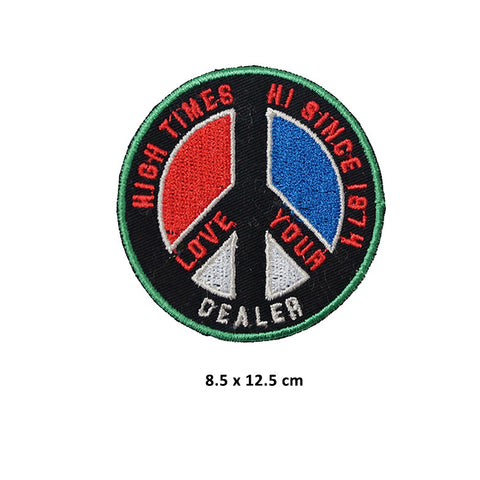 HIGH TIMES Peace Sign Patch