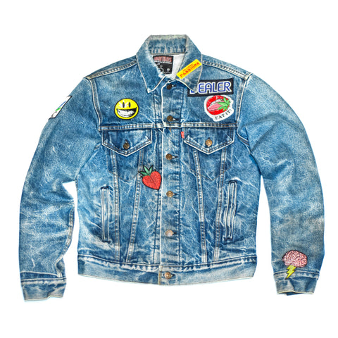 RON ENGLISH VINTAGE DENIM JACKET 1-of-1