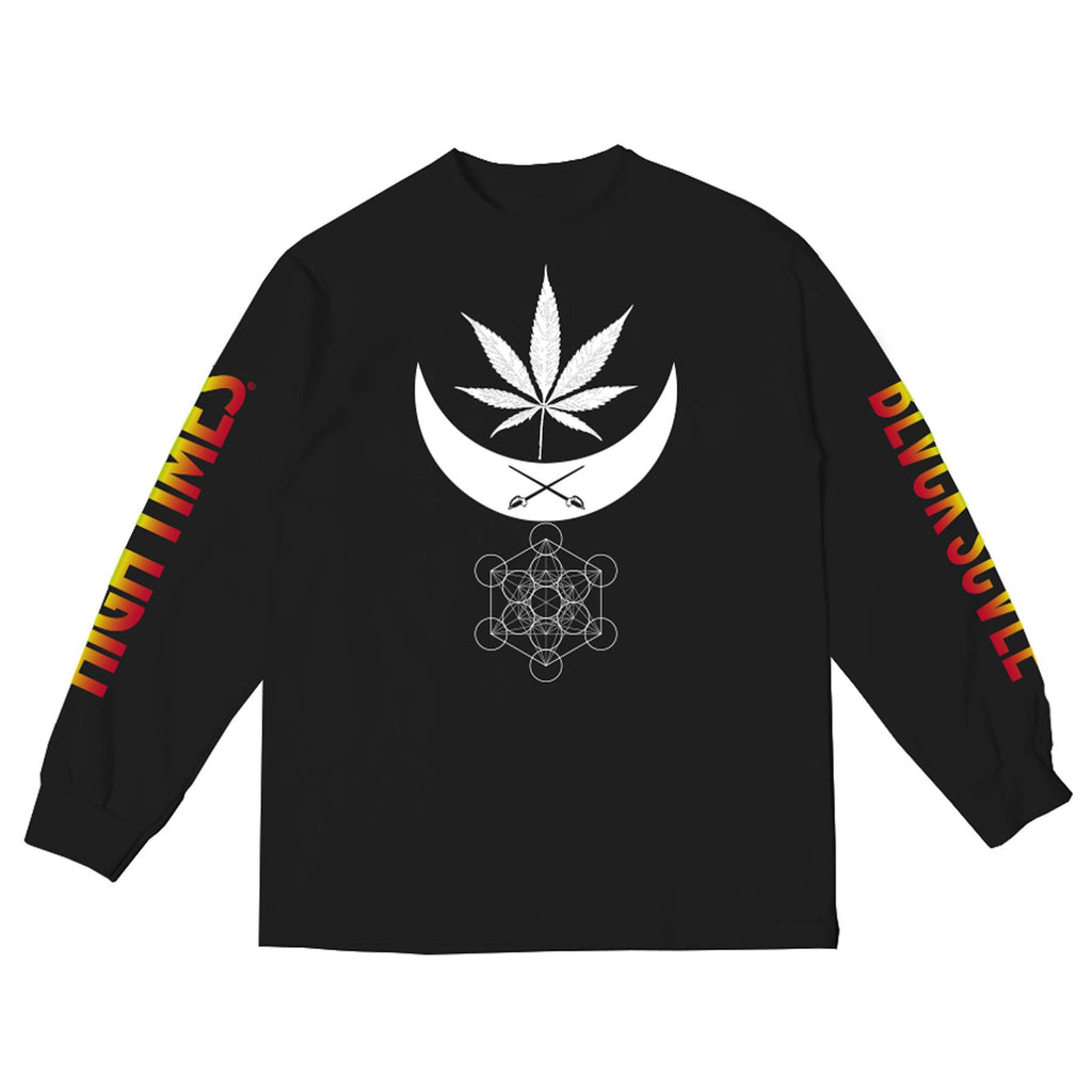 BLACK SCALE x HIGH TIMES BALANCE LS TEE