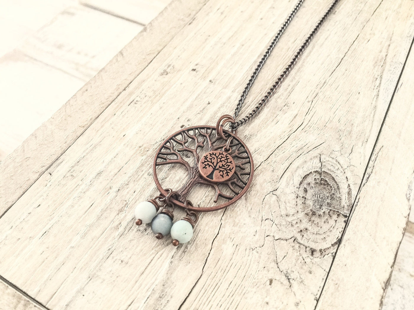 Tree of Life Necklace, Tree Lover  Necklace, Family Tree Necklace, Boho Tree Pendant, Mothers Gift, Spiritual Tree Necklace, N190