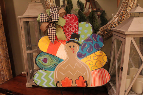 Turkey Door Hanger - Beautiful