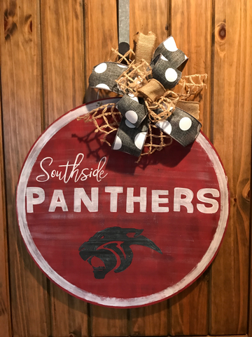 Southside Panthers Door Hanger