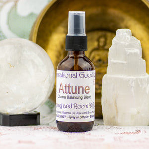Attune Chakra Balancing Gem Water Fusion and Aura Spray
