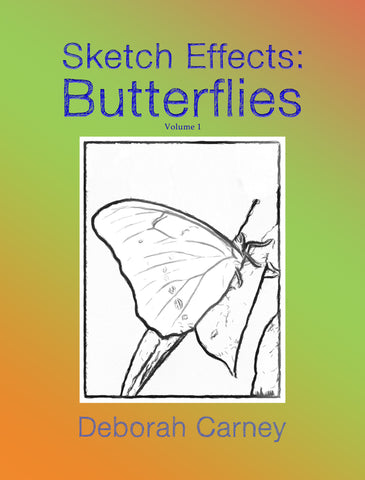PDF Download: Sketch Effects: Butterflies: Coloring Book for Adults - Volume 1