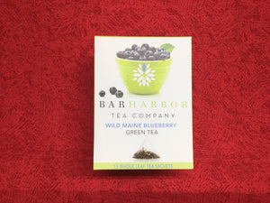 Tea Green Wild Maine Blueberry