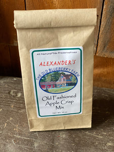 Apple Crisp Mix (Old Fashioned) 14 oz.