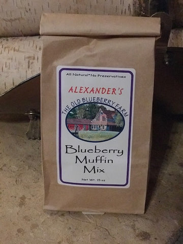 Muffin Blueberry Mix