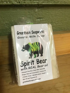 Soap Spirit Bear All-Natural Goat's Milk