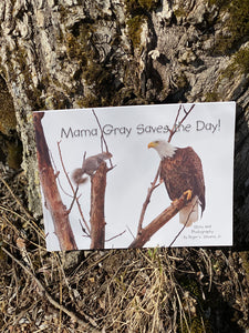 Maine Author  MAMA GRAY SAVES THE DAY by Roger L. Stevens, Jr.