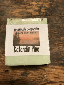 Soap Katahdin Pine All-Natural Goat's Milk