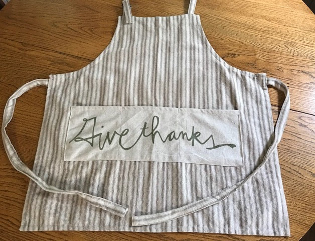 Apron Thanksgiving Chef   / Give Thanks