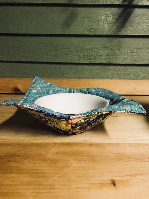 Bowl Holder Lupine / microwave (yellow/blended colors)