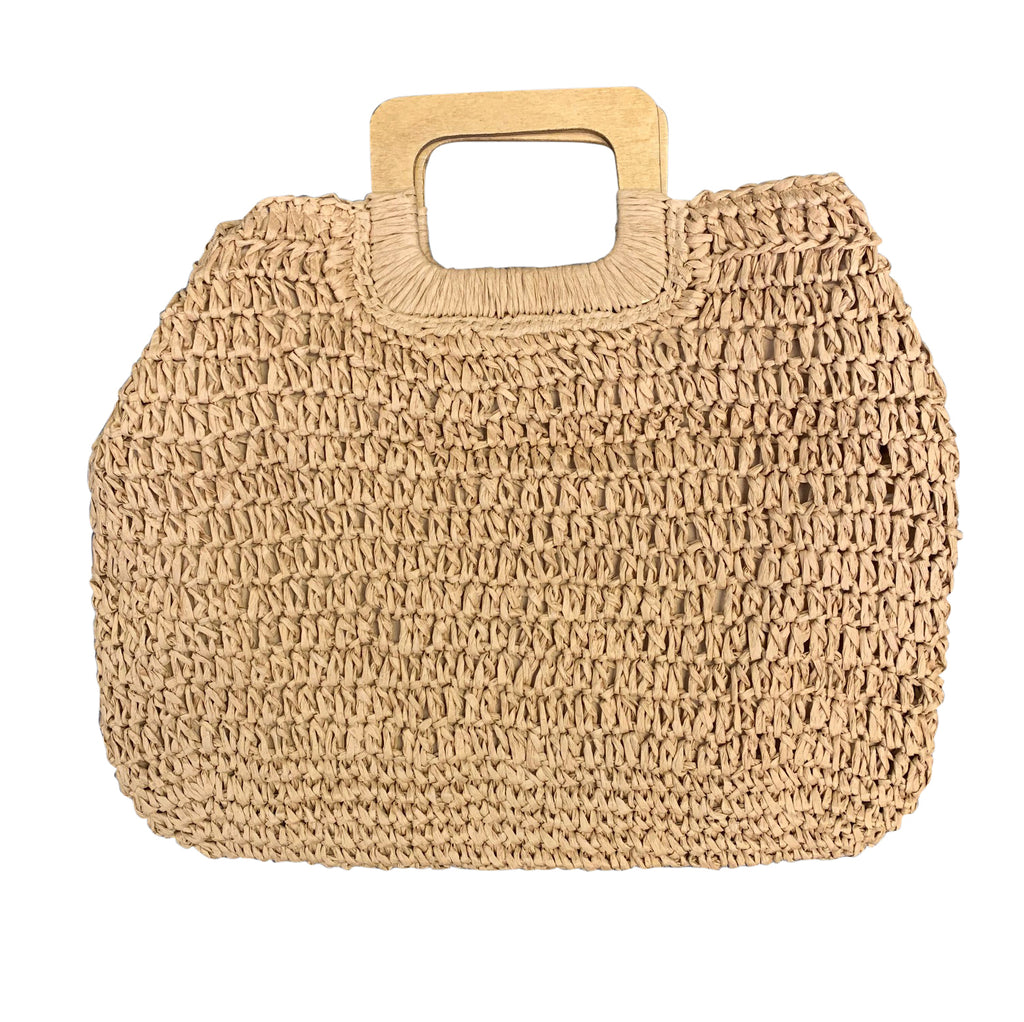 Raffia Tote - Luxe and Beau Designs
