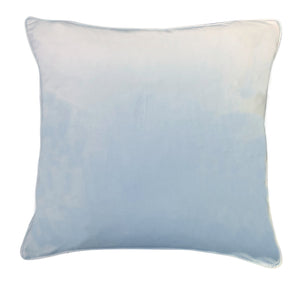 Light Blue Velvet - Luxe and Beau Designs