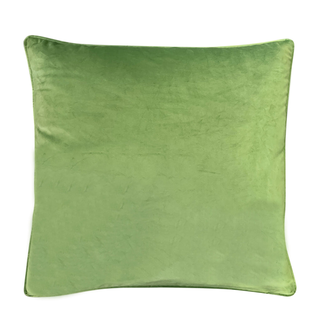 Green Velvet Euro - Luxe and Beau Designs