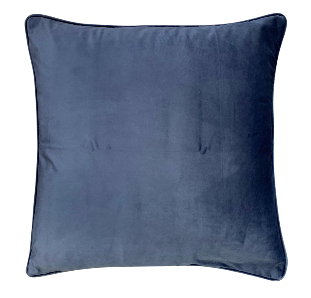 Steel Blue Velvet - Luxe and Beau Designs