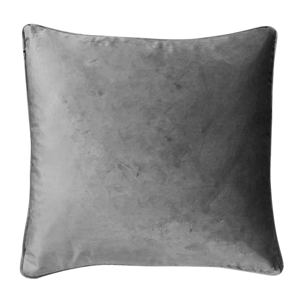 Platinum Grey Velvet - Luxe and Beau Designs