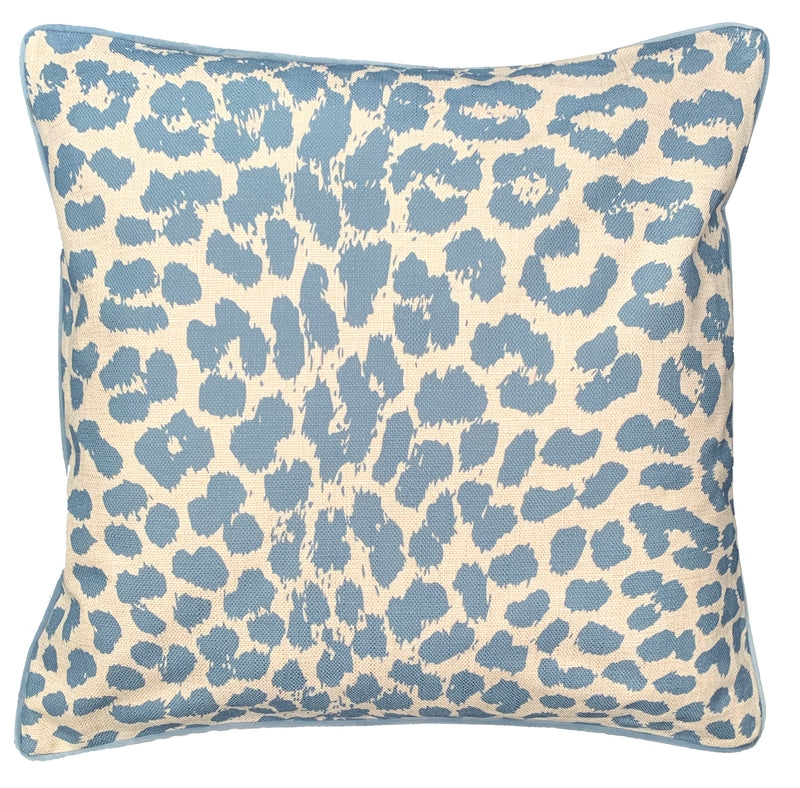 Powder Blue Leopard