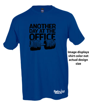 Another Day at The Office Stamped Shirt