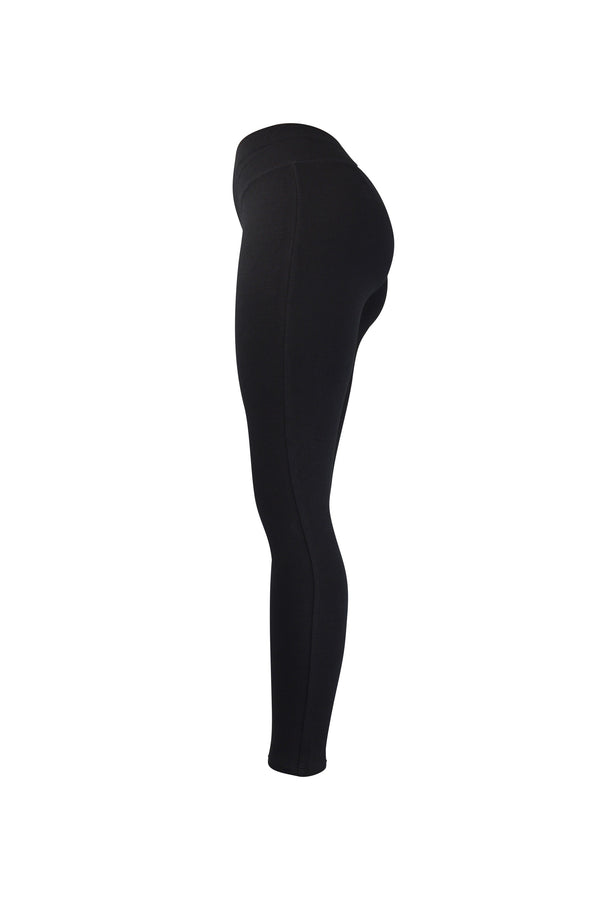 Fashion Ladies All Black Leggings yoga and workout