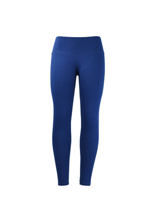 Fashion Ladies All Royal Blue Leggings yoga and workout