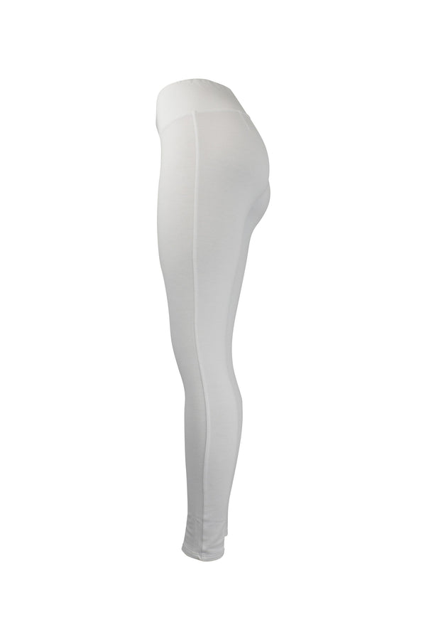 Fashion Ladies All White Leggings yoga and workout