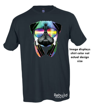 Dj Pug Stamped Shirt