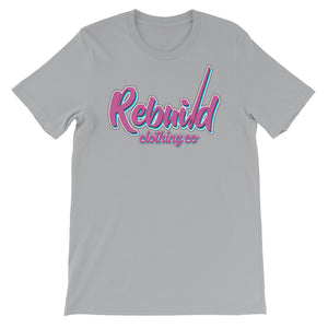 Rebuild Clothing Co. custom logo Miami Vice City Short-Sleeve Unisex T-Shirt
