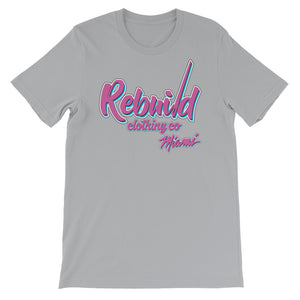 Rebuild Clothing Co. Miami Custom logo