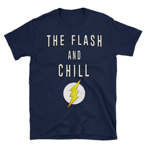 Flash and Chill Custom Short-Sleeve Unisex T-Shirt