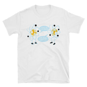 Electron Joke custom Short-Sleeve Unisex T-Shirt