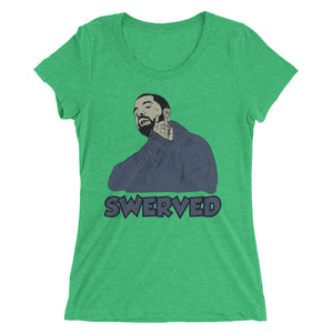Ladies' Custom Drake Swerved short sleeve t-shirt