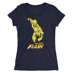 Ladies' Reverse Flash Custom Fan Art Short sleeve t-shirt