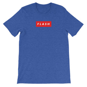 Flash Custom supreme style logo Short-Sleeve Unisex T-Shirt