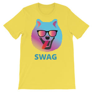 Pomeranian Swag Custom light color Short-Sleeve Unisex T-Shirt