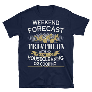 TRIATHLON custom Short-Sleeve Unisex T-Shirt