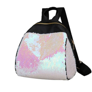 Fashion Backpack Shiny Sequins