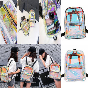 Transparent Backpack Casual Backpack