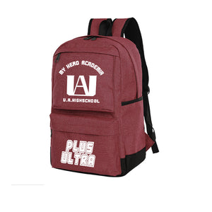 My Hero Academia Student Backpack Anime Computer Bag