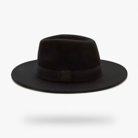 Wide Brim Wool Hat