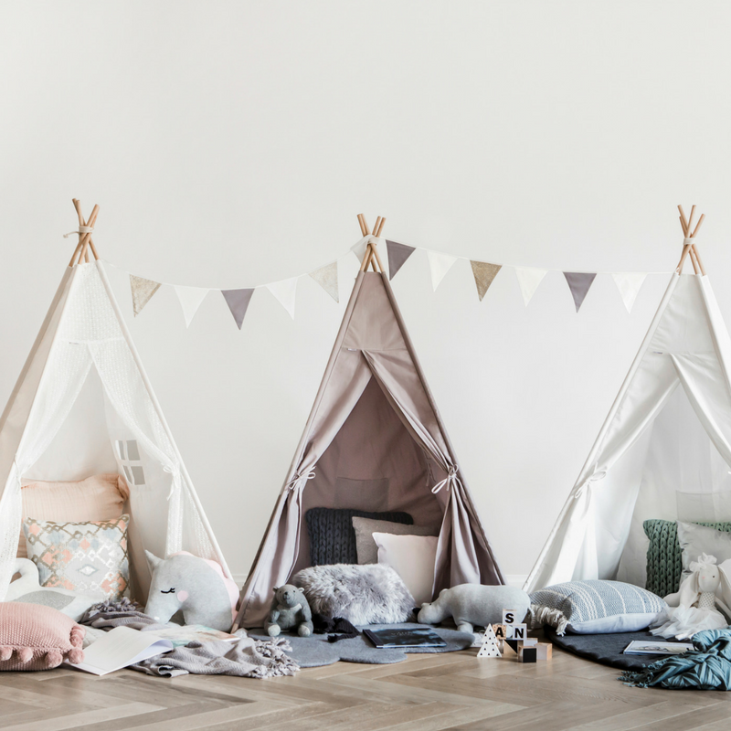 How to set up your Teepee