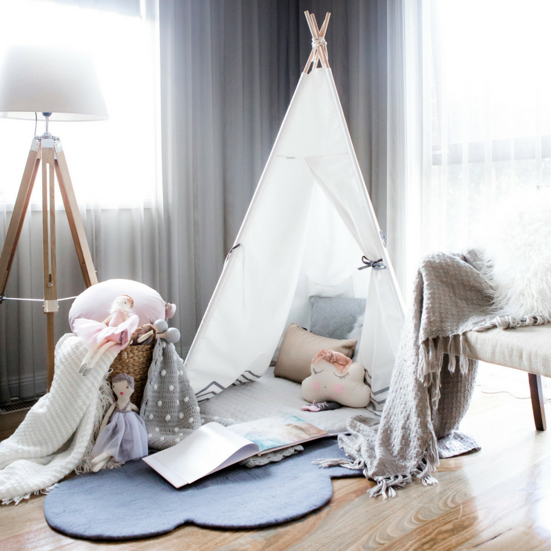 How to set up your Cattywampus Teepee