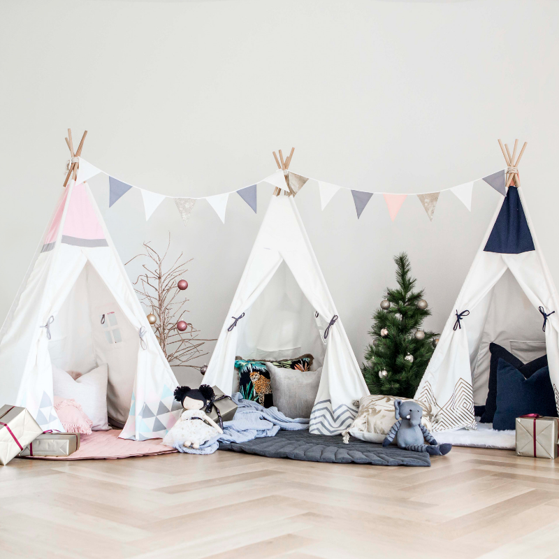 Cattywampus Kids Teepee Tent for Christmas Gift for Boys and Girls